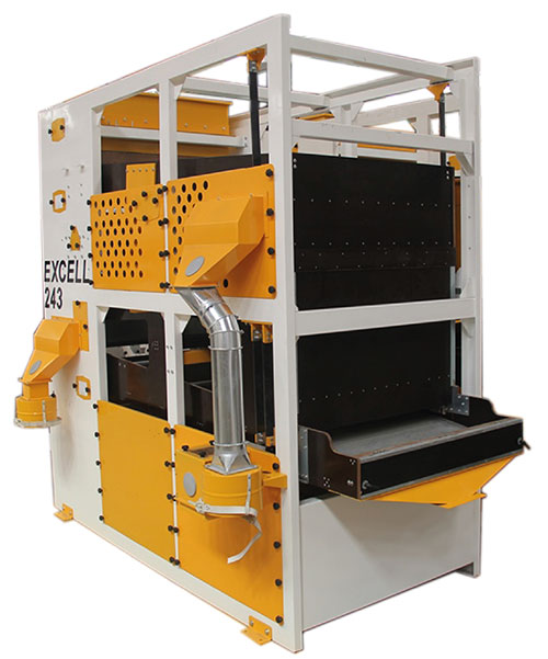 AKYUREKEXCELL FLAT SCREEN GRADERS