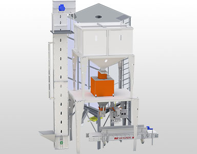 SEMI-AUTOMATED NET WEIGHER & BAGGING SCLAES